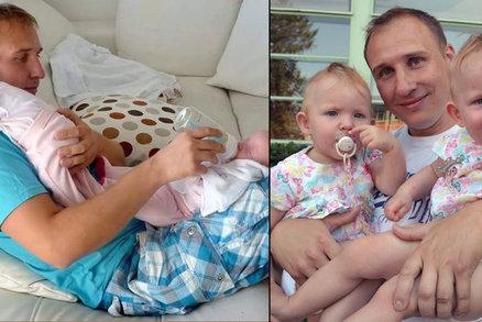 To je Táta roku 2016: Zraněný se sám dokázal postarat o předčasně narozená dvojčátka…