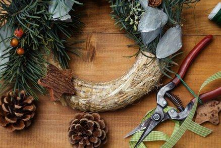 Advent je tady: Vyrobte si věnec, který vám vydrží roky!
