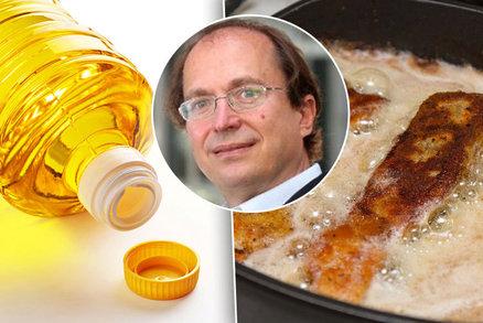 """Rostlinné oleje že způsobují demenci? Český expert """"smaží"""" britskou studii"""