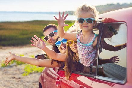 Rodinný výlet nemusí být nuda. Vyzkoušejte netradiční koloběh nebo sjeďte s dětmi řeku