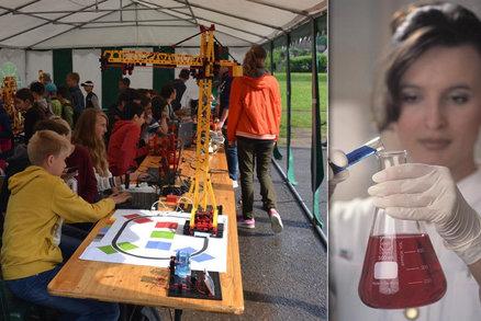 Studentka VŠ chtěla školákům předvést pokus: Popálila se kyselinou!