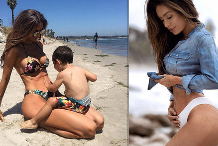 Těhotná modelka Sarah Stage: Takhle vypadám v 6. měsíci!