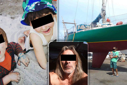 Zoufalá máma pátrá v Karibiku po manželovi a synech: Poslal zprávu, pak jejich loď zmizela