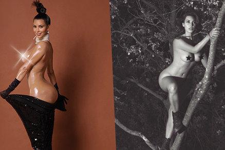 Kim Kardashian se opět snaží zbořit internet: Fanoušci jsou z ní na větvi!