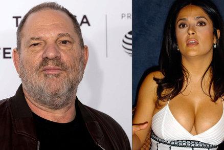 Otevřená zpověď Salmy Hayek pro New York Times: Weinstein je i moje monstrum!