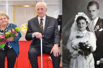 Vlastimila a Vladimír jsou spolu 65 let: Srdce naplněná láskou nic neoddělí