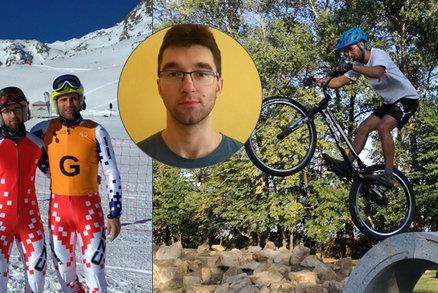 Mistra Evropy v biketrialu připravila záhadná nemoc o zrak: Tadeáš bude lyžovat na paralympiádě