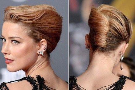 Drdol podle Amber Heard: Inspirace pro účes na ples!