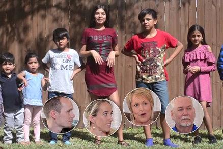 Dobrotiví manželé adoptovali devět dětí! Nechtěli rozdělit sourozence