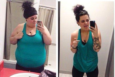 Zhubla 50 kilogramů bez diety a trenéra. Jak to dokázala?