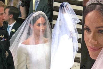 Nevěsta Meghan Markle očima Františky: Vévodkyně ze Sussexu obstála! V hedvábí za 6 milionů