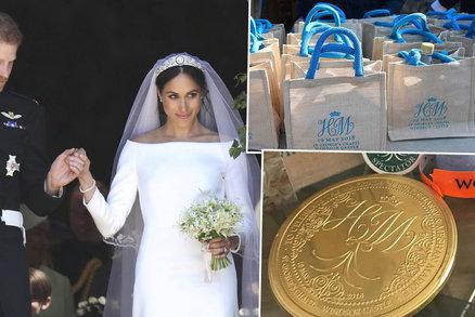 Trapas po svatbě Harryho a Meghan: Svatebčané prodávají královské dary na netu