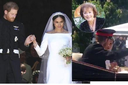 Nečekaný host na svatbě Harryho a Meghan: Nevěsta zůstala zírat s pusou dokořán!