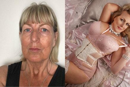 Z obyčejných žen ve středním věku dělá supermodelky. Každá je sexy!