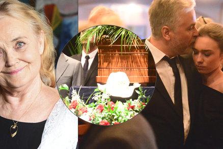 Odhalení na pohřbu Gabriely Vránové (†78): Synovi před smrtí nutila kreditku!