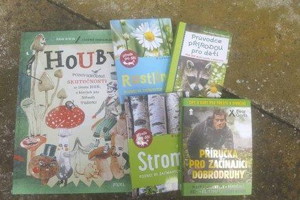 Čtení na prázdniny: Knihy nejen o přírodě, které děti v létě budou bavit