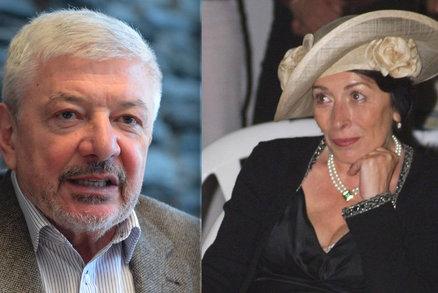 Zesnulá Marta Davouze Železná: Po pohřbu ještě další rozlučka