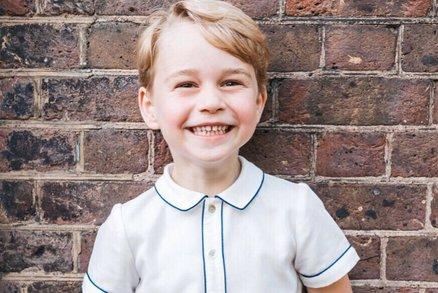 Princ George slaví 5. narozeniny! Tohle jste o něm možná nevěděli