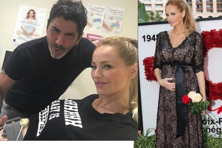 Těhotná Adriana Sklenaříková: Poslední foto z gynekologické prohlídky!