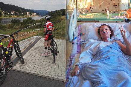 Bojovnice Tereza: Lékaři jí dávali 1% na přežití. Smrtící bakterie vzala sportovkyni nohy i prsty na rukou, přežila a ujela cyklomaraton