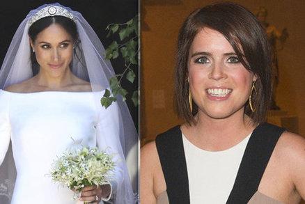 Svatba princezny Eugenie: Zvolí rebelské šaty jako Meghan, nebo klasiku jako Kate?