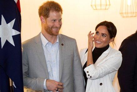 Natěšený otec princ Harry promluvil o pohlaví miminka Meghan! Dvě slova způsobila poprask