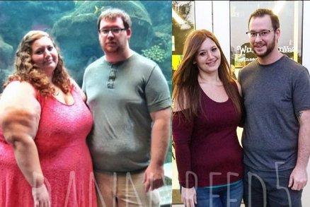 Sami tomu nemohli uvěřit: Za rok a půl dohromady zhubli o 160 kilo!