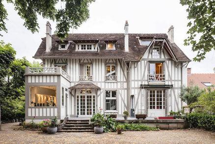 To musíte vidět! Interiér francouzského domu z 19. století se změnil v moderní domov
