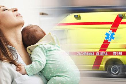 Domácí porod nedaleko Prahy dopadl tragicky. Zasahující záchranář prosí maminky: Nedělejte to!