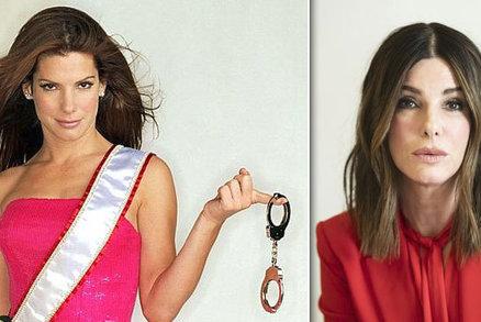 Sandra Bullock to přehnala s botoxem! Slečna Drsňák už si není podobná!