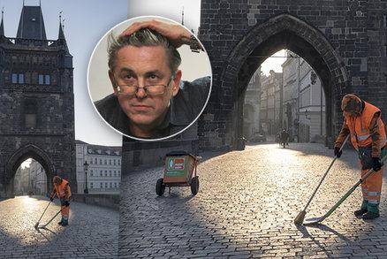 Praha jako jeviště pro objektiv: Na pěkné fotky se vyplatí počkat, říká »starý nadějný fotograf« Vít