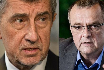 """""""Ožrala"""" a """"zloděj zlodějský"""". Babiš přestřelil, rozhodl soud, Kalouskovi se musí omluvit"""