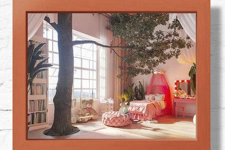 Děti nakreslily svůj vysněný pokoj a takhle úžasně pak vypadá skutečnost!