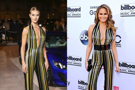 Celebrity, které oblékly stejné šaty: Kdo koho okopíroval a komu sluší víc?