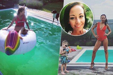 Tohle Agáta nečekala! Vyprsila se u bazénu a vzápětí přišla drsná nálož