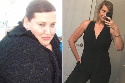 Vážila 162 kilogramů! Za 18 měsíců ale dokázala zhubnout na polovinu. Jak?