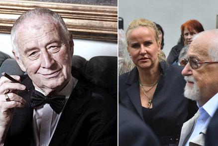 Rozčarovaná Pizingerová na pohřbu onkologa Kouteckého: Tenhle muž nepřišel?!