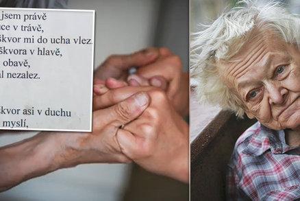 Poslední básnička pro Helenku: Leť a buď svobodná! Oblíbená babička podlehla Parkinsonově chorobě