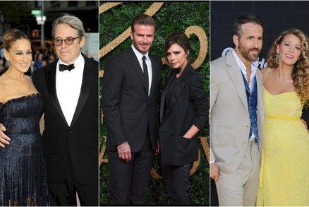 Láska z Hollywoodu: Jak se daly dohromady tyto slavné páry?
