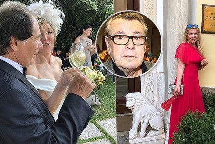 Vdova po Formanovi Martina: Samotu zahání svatbami!