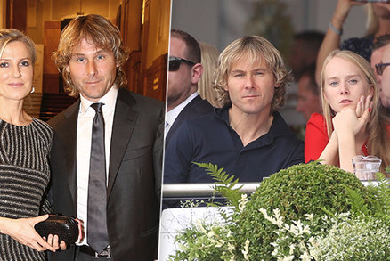 Fotbalista Pavel Nedvěd: Krach manželství! Teď randí s blondýnkou Luckou