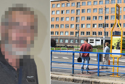 Otočil se a dostal pěstí! Seniora zbil bezdůvodně šílený agresor v tramvaji