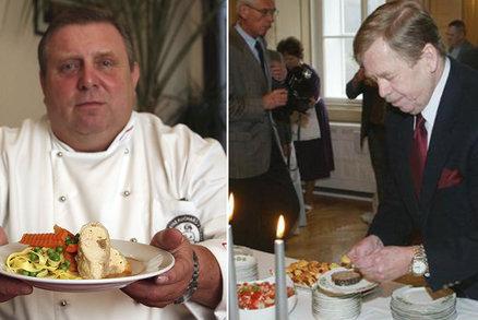 Takhle se jedlo za Havla! Sapík uvaří menu, které ochutnala i anglická královna
