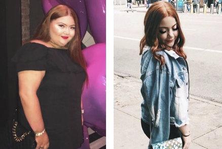 Jako tlustá jsem se už narodila, tvrdí herečka, která zhubla o půlku své váhy