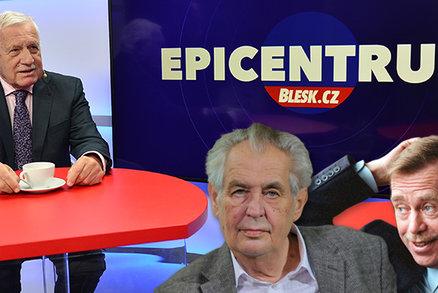Klaus pro Blesk: Havel byl zelený socialista. A se Zemanem jsme vedli fatální spor