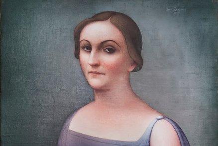 """Československá Mona Lisa v Obecním domě: """"Ztracený"""