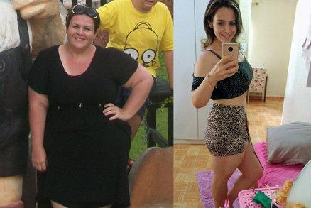 Závislost na cole ji doháněla k slzám. Kvůli dětem se ale nevzdala a zhubla o 60 kilo