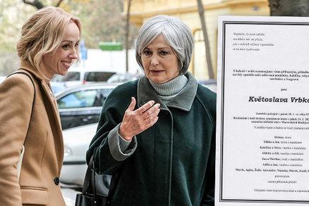 Zdrcená Eliška Balzerová oplakává maminku! Proč se musel pozdržet pohřeb?