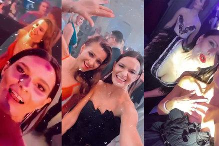 Brno plesalo do rána: Nemocná Slováčková, Švantnerová vytáčela maminku a nově vdaná sexbomba?