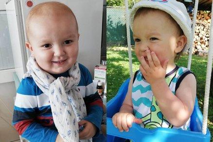 Její dvouletý synek byl stále unavený, pak přišla strašná diagnóza. V boji s leukémií můžete pomoci i vy!